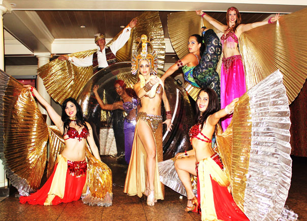 arabian theme belly dancers:nyc