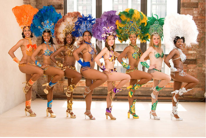 brazilian samba dancers nyc