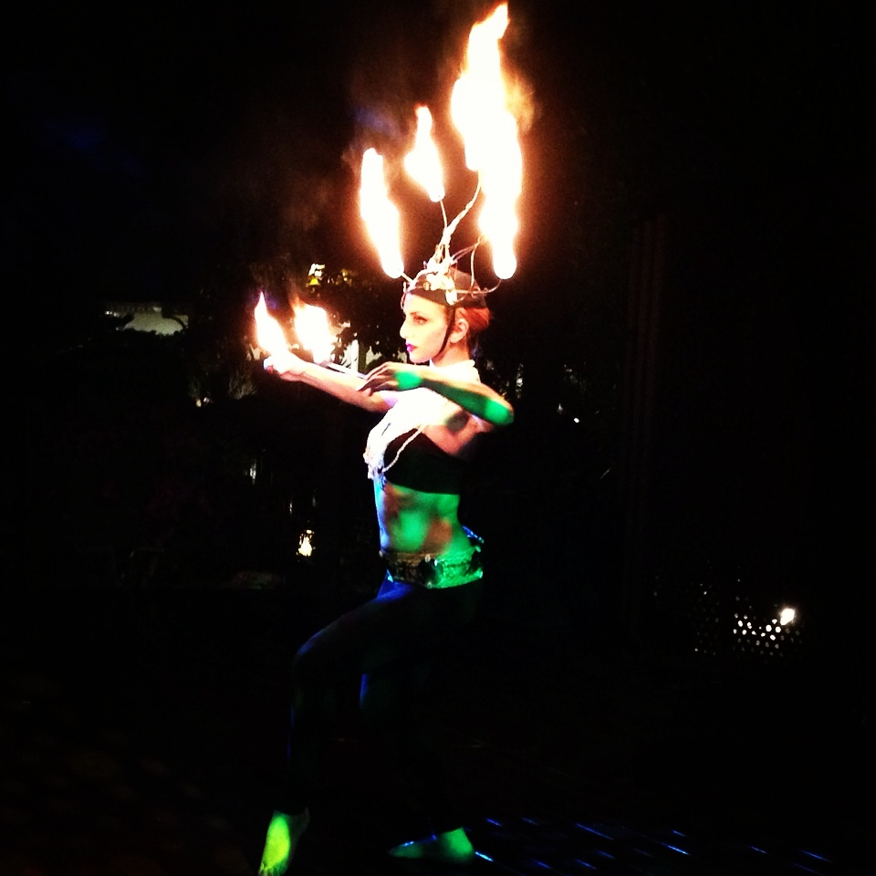 fire dancer new york